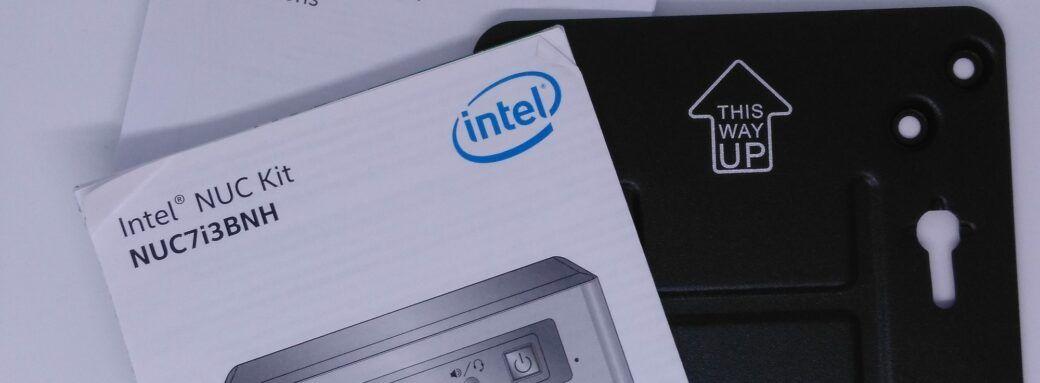 Intel NUC-Support Vesa et docs