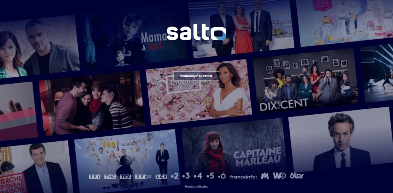 Photo de La télévision Française lance son propre Netflix : Salto