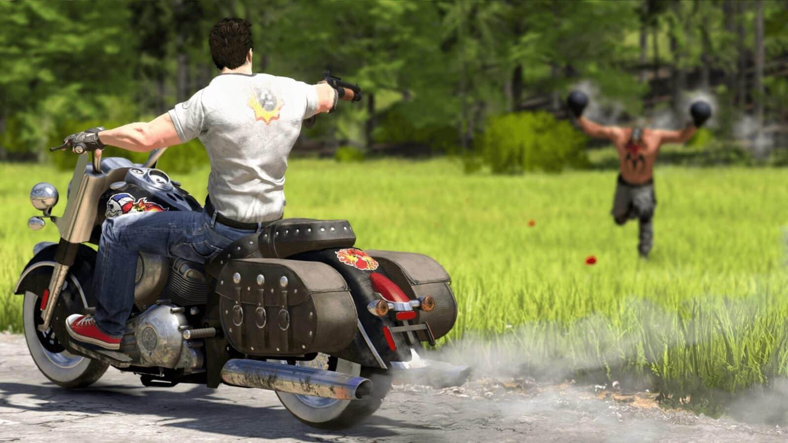 Serious Sam 4 - Motorcycle Shot