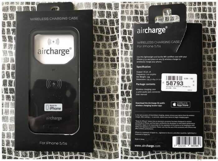 Coque Adaptateur Qi AirCharge