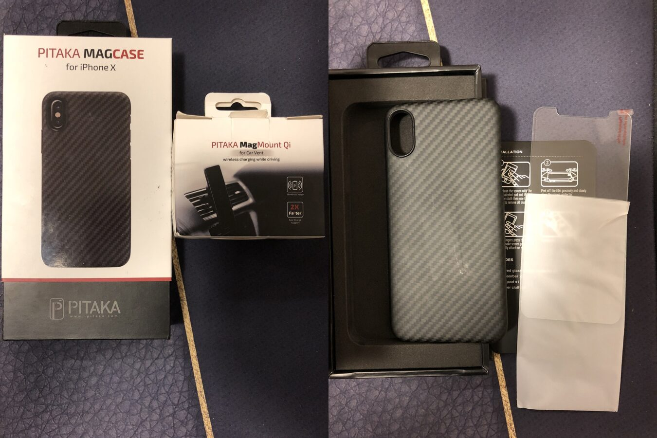 Photo de Test – Pitaka MagCase et MagMount Qi : Le combo pour votre smartphone !