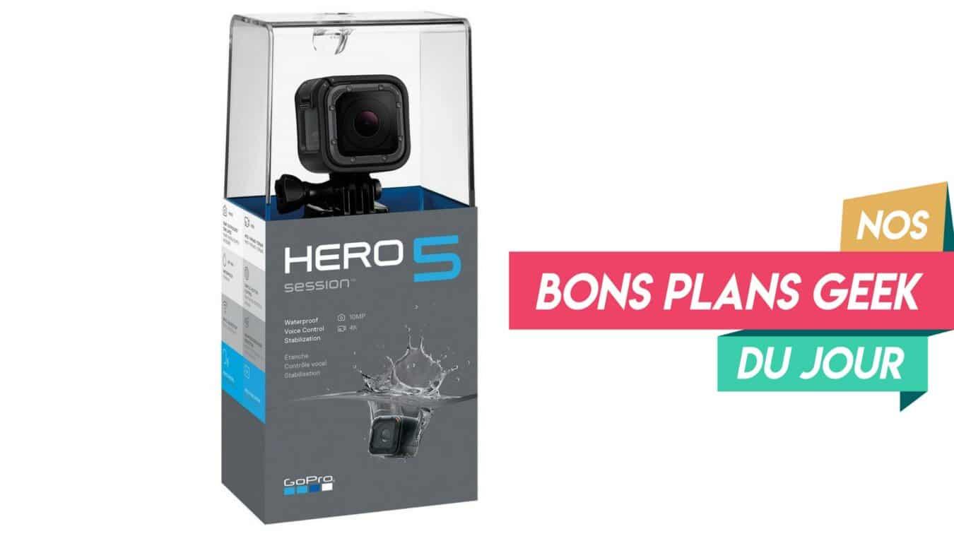 Photo de #BonPlan GoPro Hero 5 Session, l'Action Cam qui se doit d'être dans votre sac cet été à – 56%
