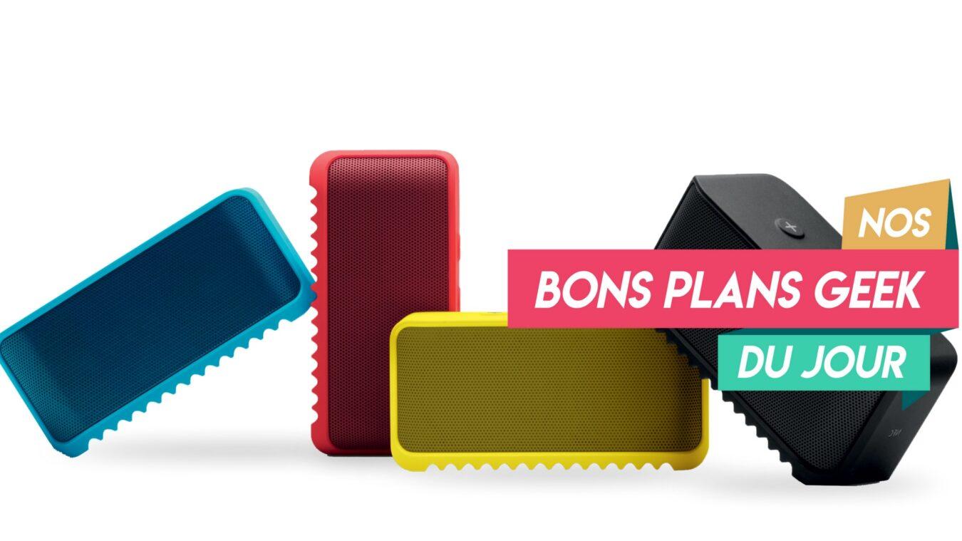 Photo de #BonPlan Jabra Solemate, une enceinte Bluetooth coloré et pop pour l'été