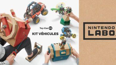 Photo de Nintendo Labo – Le nouveau «Kit Véhicules» arrive à la rentrée