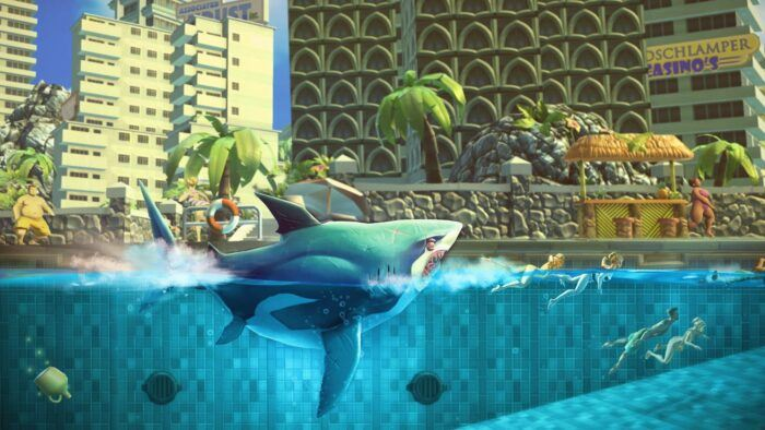 Hungry Shark World-Avec un requin en chasse