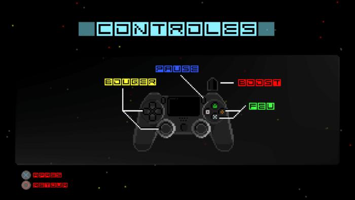 Hyper Sentinel_Les controles