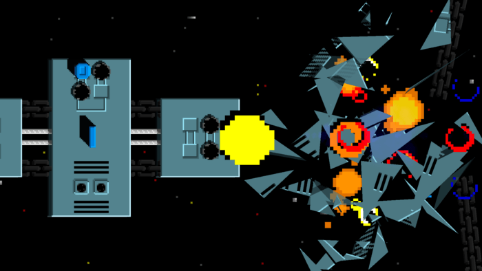 Hyper Sentinel_Destruction d'une base