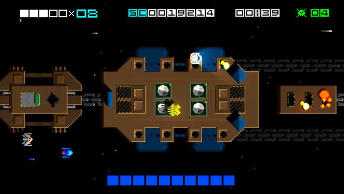Hyper Sentinel_Boss en vue