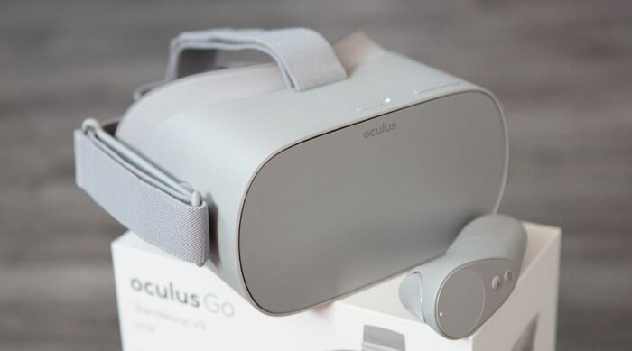 Oculus Go boutons
