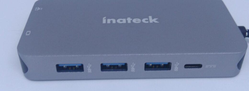 inateck-SC01001-côté USB3 et USB-C