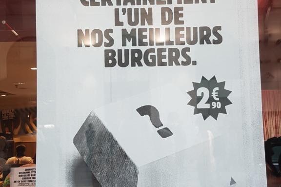 Burger Mystère Burger King