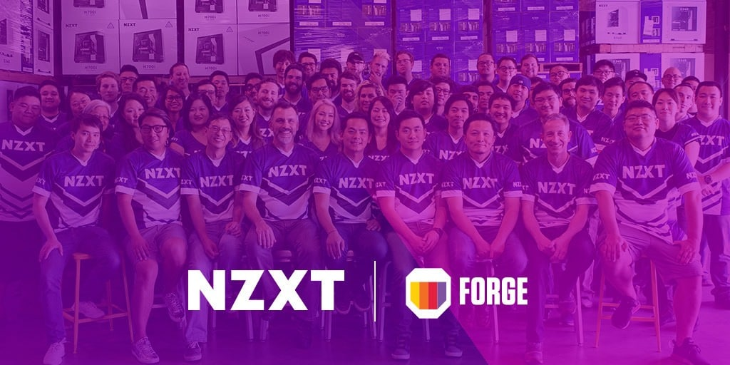 NZXT et Forge