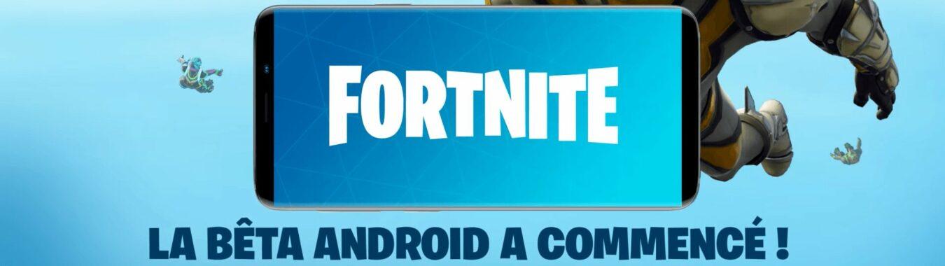 Photo de Fortnite Battle Royale arrive en bêta sur Android