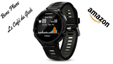 Photo de #BonPlan – La montre Garmin Forerunner 735XT à moins de 240€