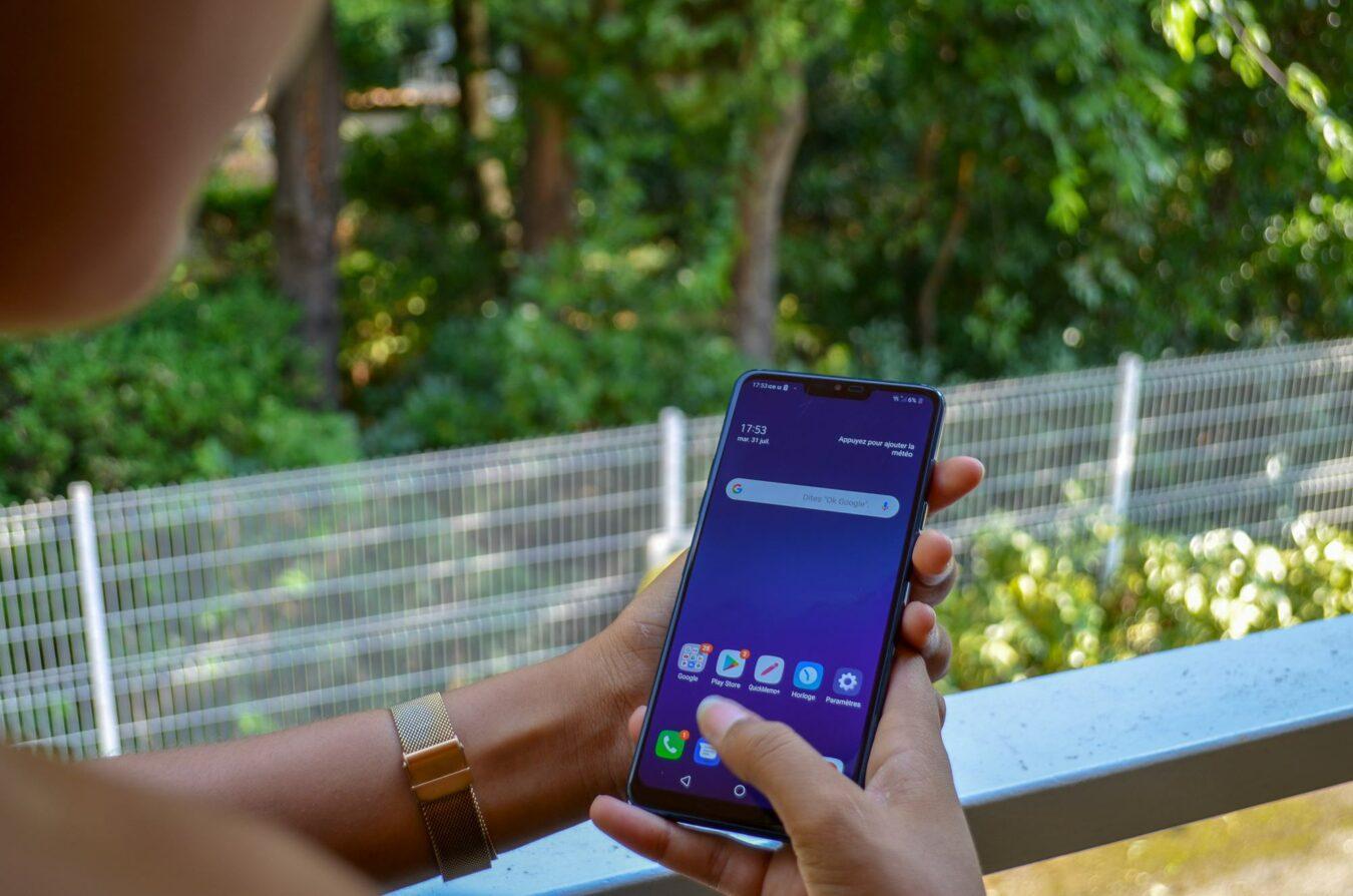 Photo de Test – LG G7 ThinQ : Sur la pente de la réussite mais toujours pas Leader
