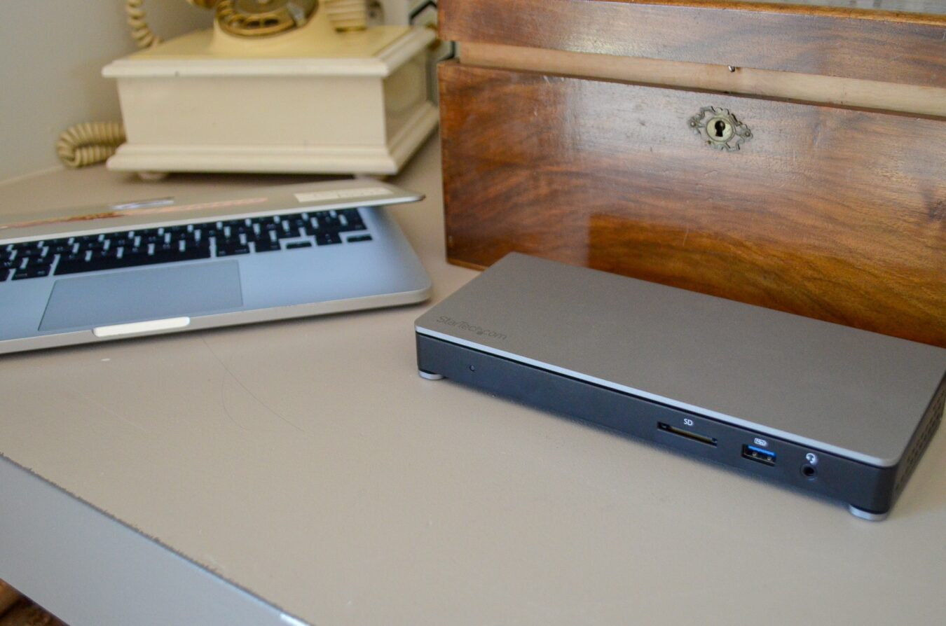 Photo de Test – Startech et la Station d'accueil Thunderbolt 3 en double 4K