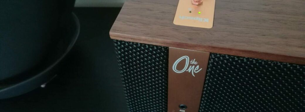 L'enceinte vintage The One by Klispch