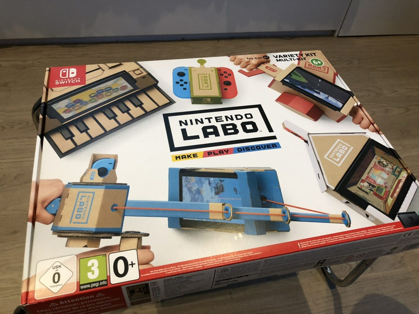 Photo of Test – NINTENDO LABO – Tellement plus que du carton, du FUN en boîte