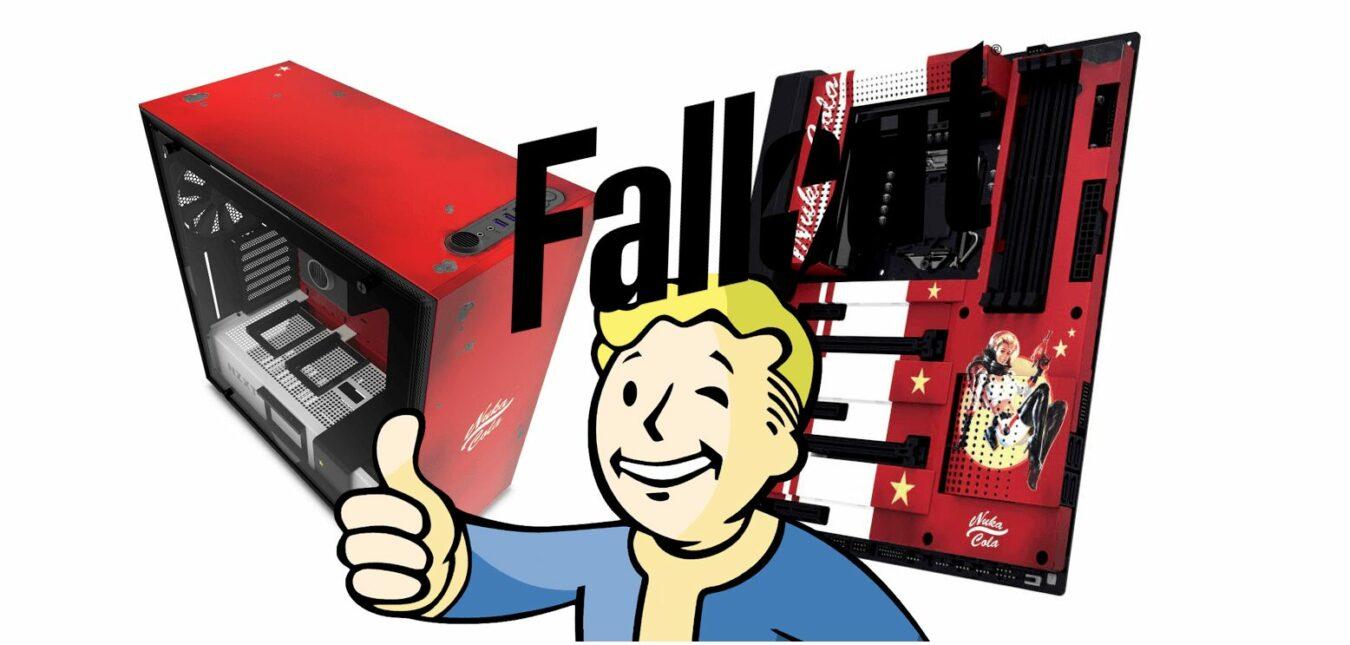 Photo de CRFT 02 : NZXT sort un boîtier Fallout Collector