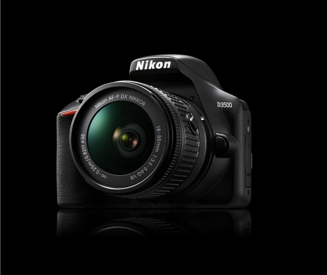 nikon D3500 entrée de gamme