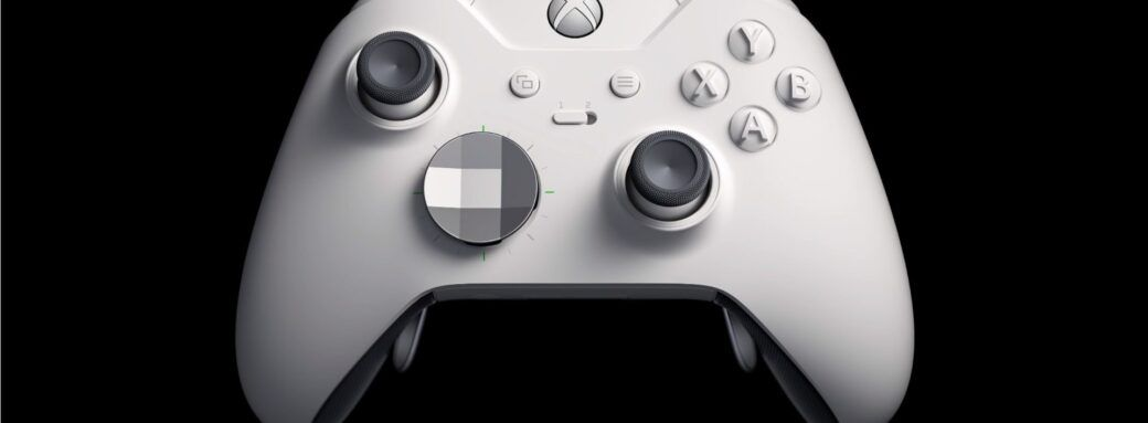 Manette Xbox One Elite Robot White