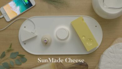 Photo of SunMade Cheese by YOLK – Un plateau de fromage original et technologique