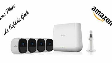 Photo de #BonPlan – Pack caméra de surveillance Arlo Pro à -30%