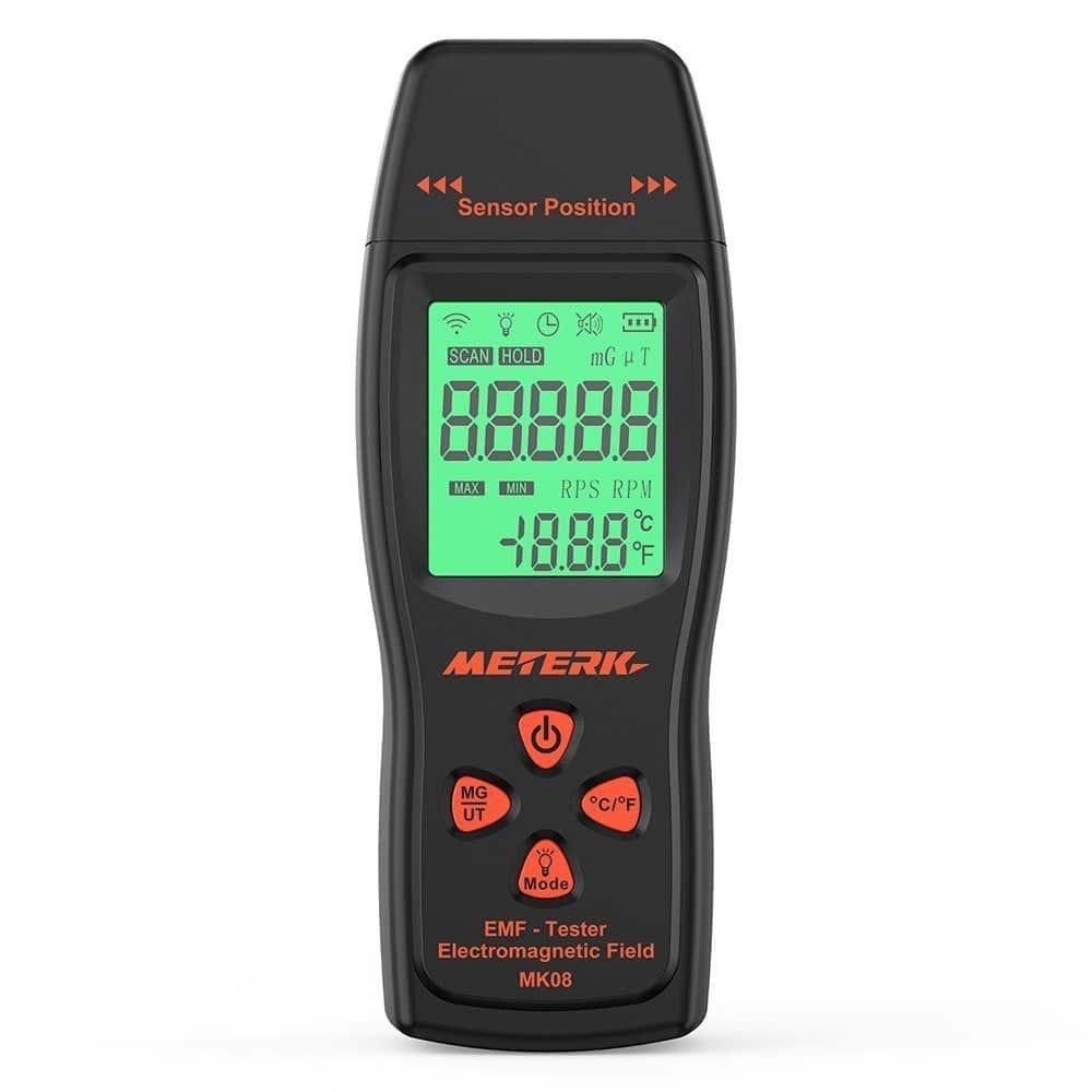 Meterk Détecteur de Rayonnement Electromagnétique