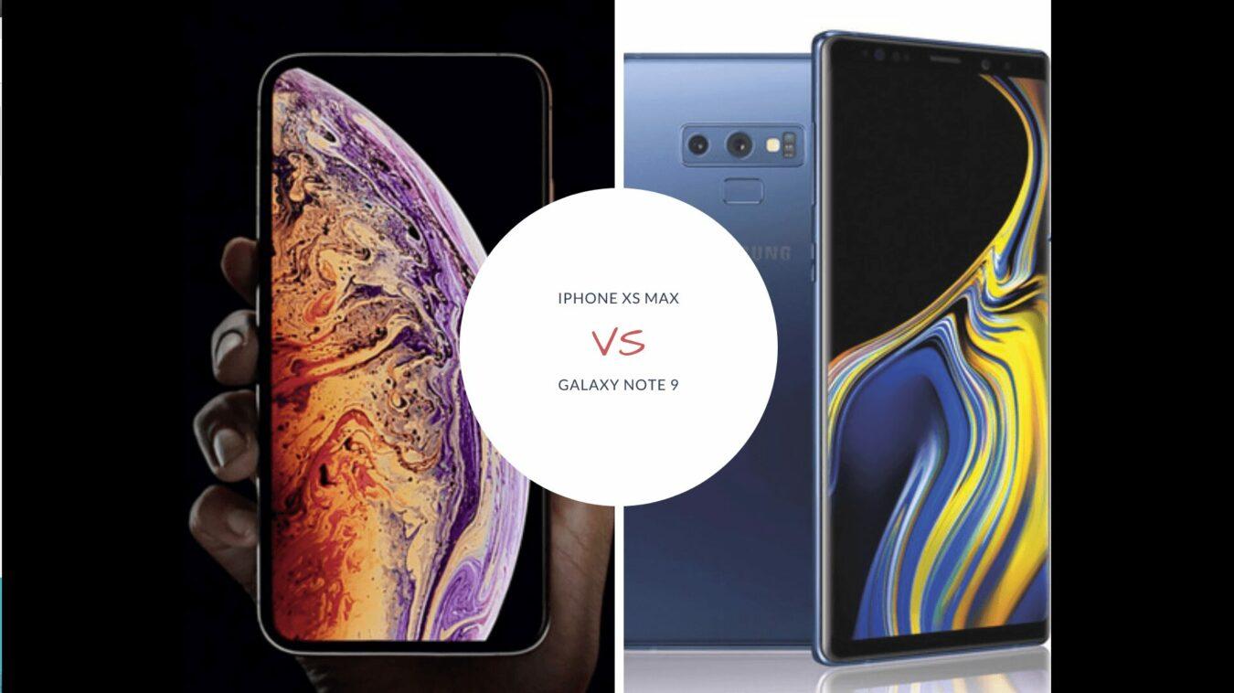 Photo de Samsung Note 9 ou Apple XS Max pour 2019 ? Le comparatif en vidéo avec iT3ch !