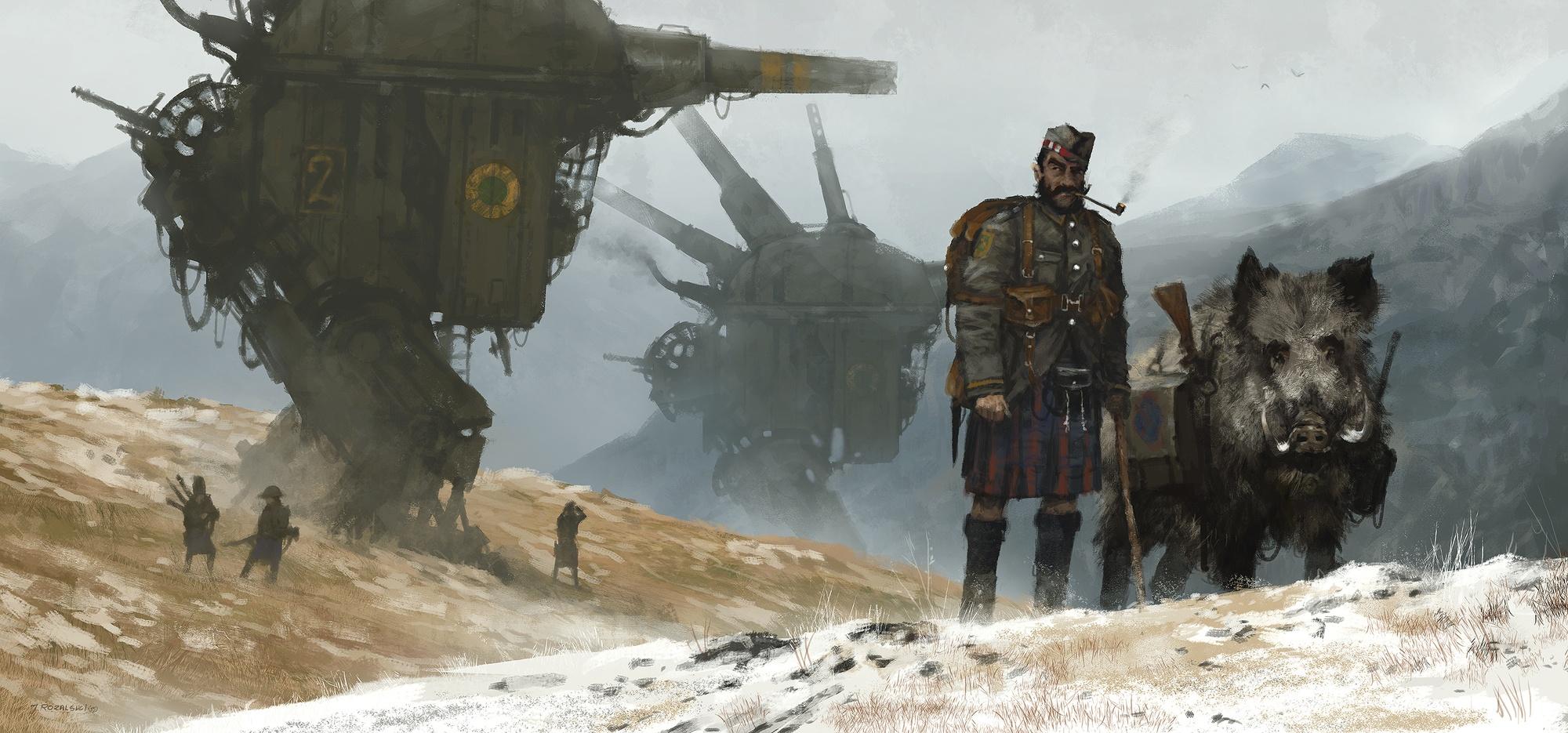 Personnage d'Albion