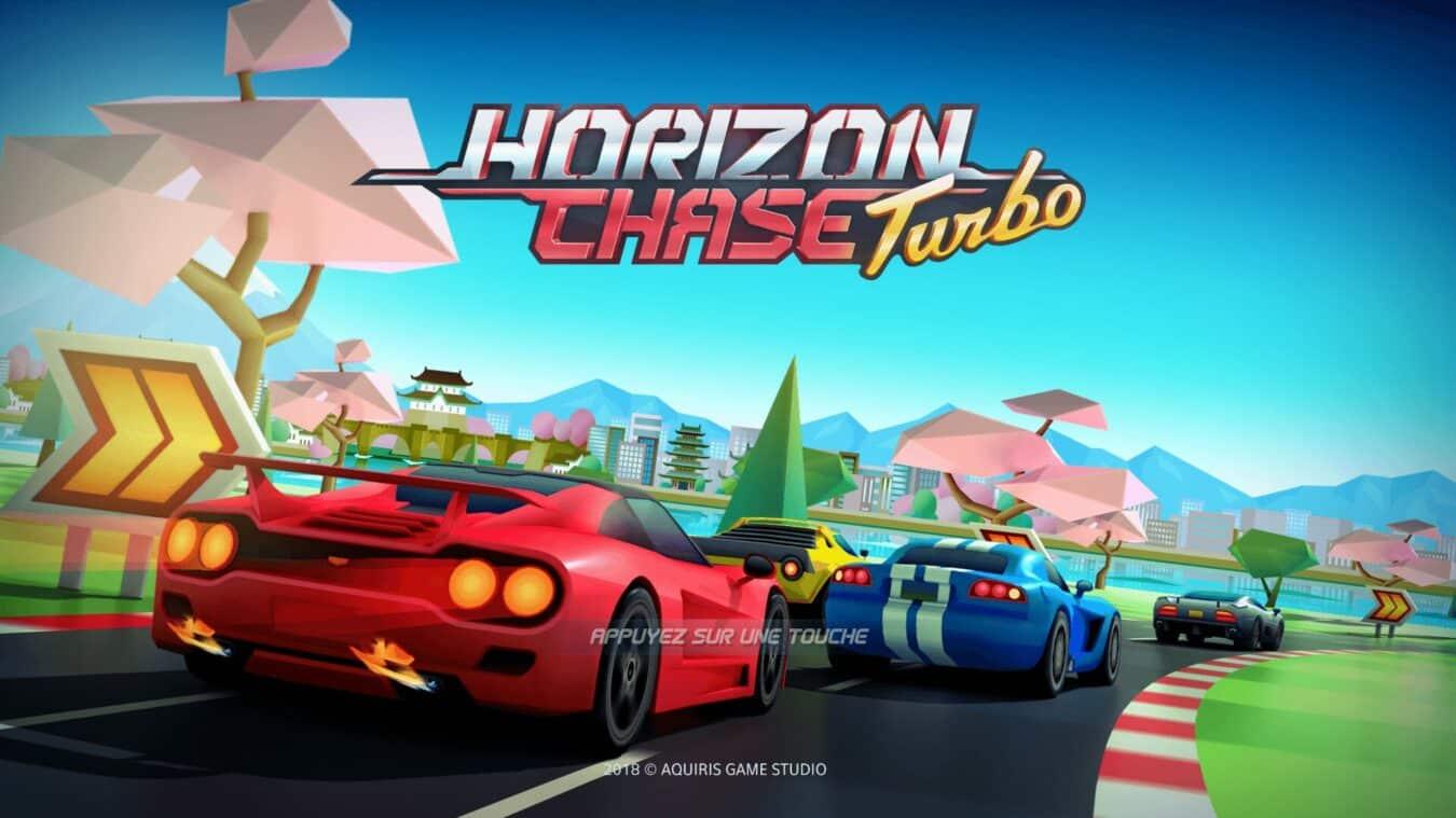 Photo de Test – PS4 – Horizon Chase Turbo fait le plein de rétro