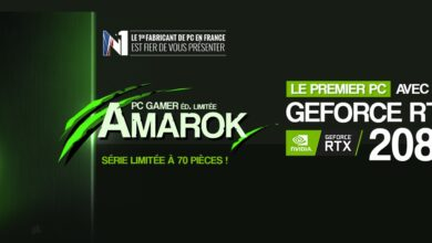Photo of Materiel.net annonce Amarok, la tour gamer armée de la GeForce RTX 2080