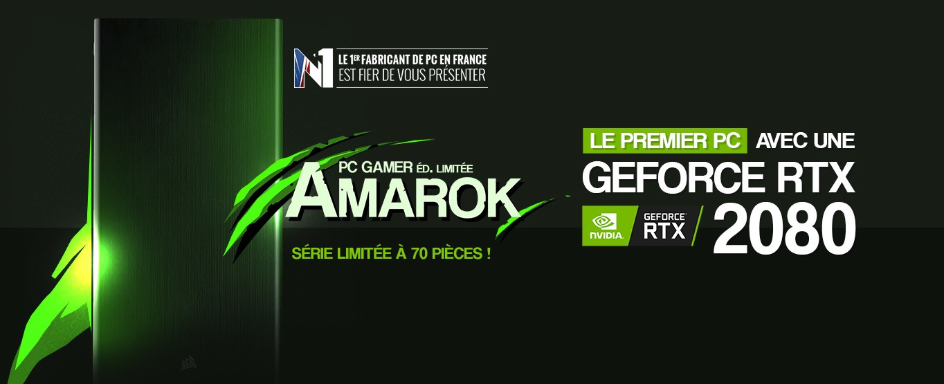 GeForce RTX 2080 Amarok tour gamer