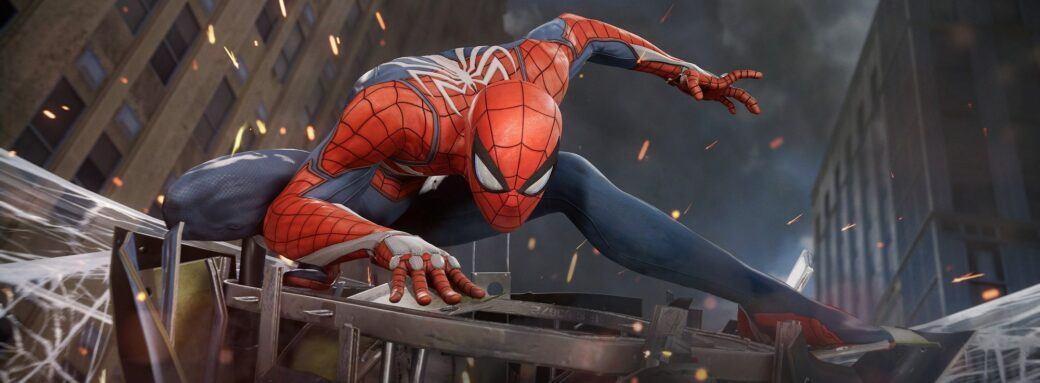 Spiderman PS4 art