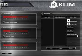 klim aim logiciel 2