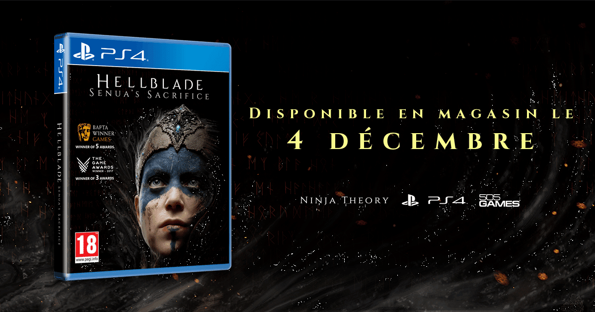 Hellblade packaging