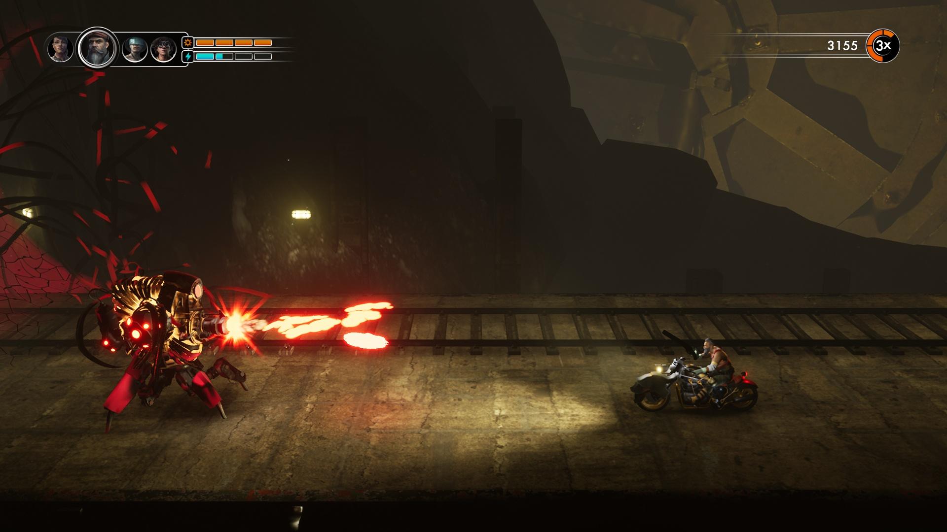 Steel Rats-Screenshot