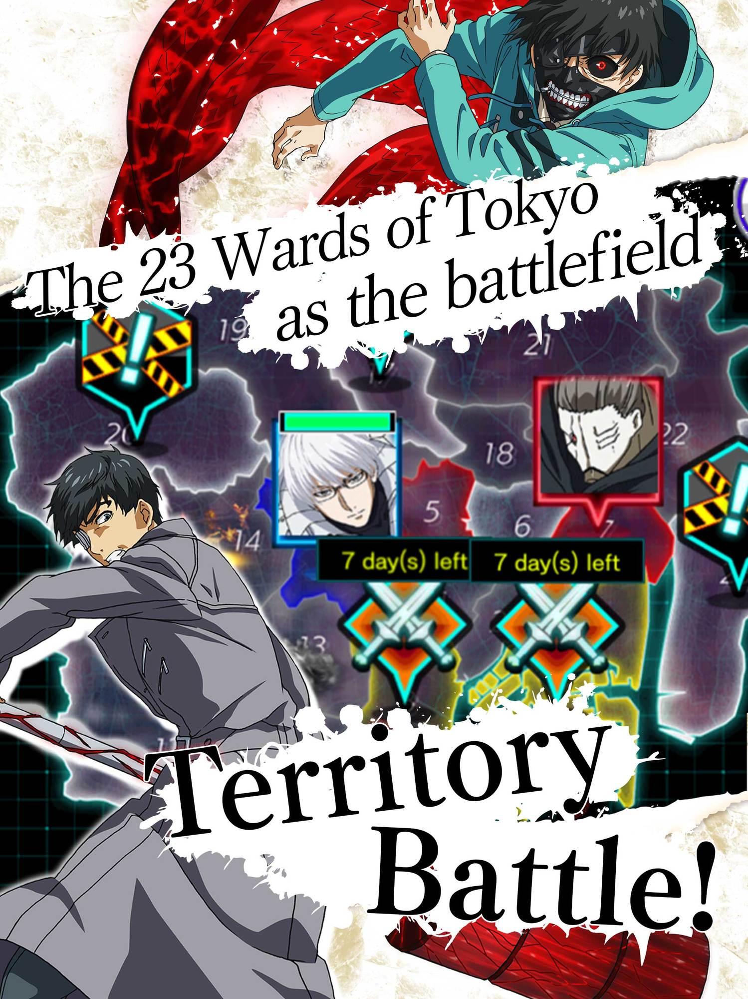 Tokyo Ghoul rebirth