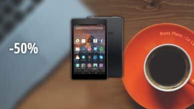 Photo de #BonPlan – La tablette Amazon Fire HD 8 32 Go à moitié prix