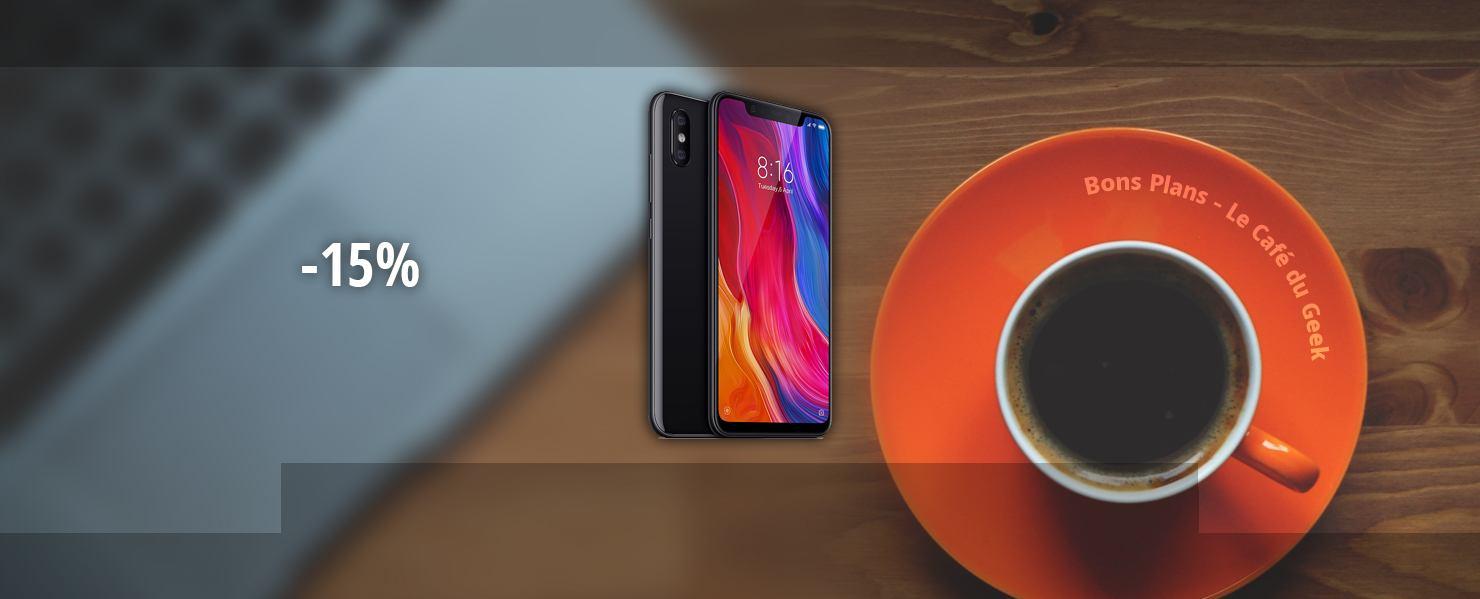 Une - Xiaomi Mi8 - Bon Plan 101018