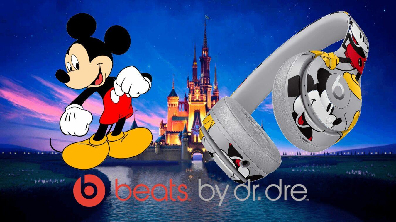 Photo de Beats fête les 90 ans de Mickey avec un Solo3 spécial Disney