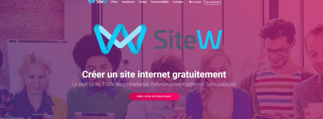 startup SiteW