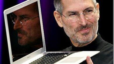 steve jobs présentation MacBook air