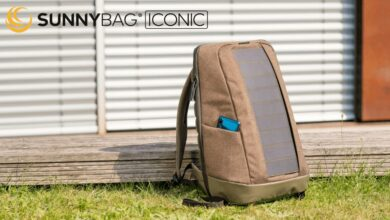 Photo of SUNNYBAG Iconic – Le sac à dos solaire utile