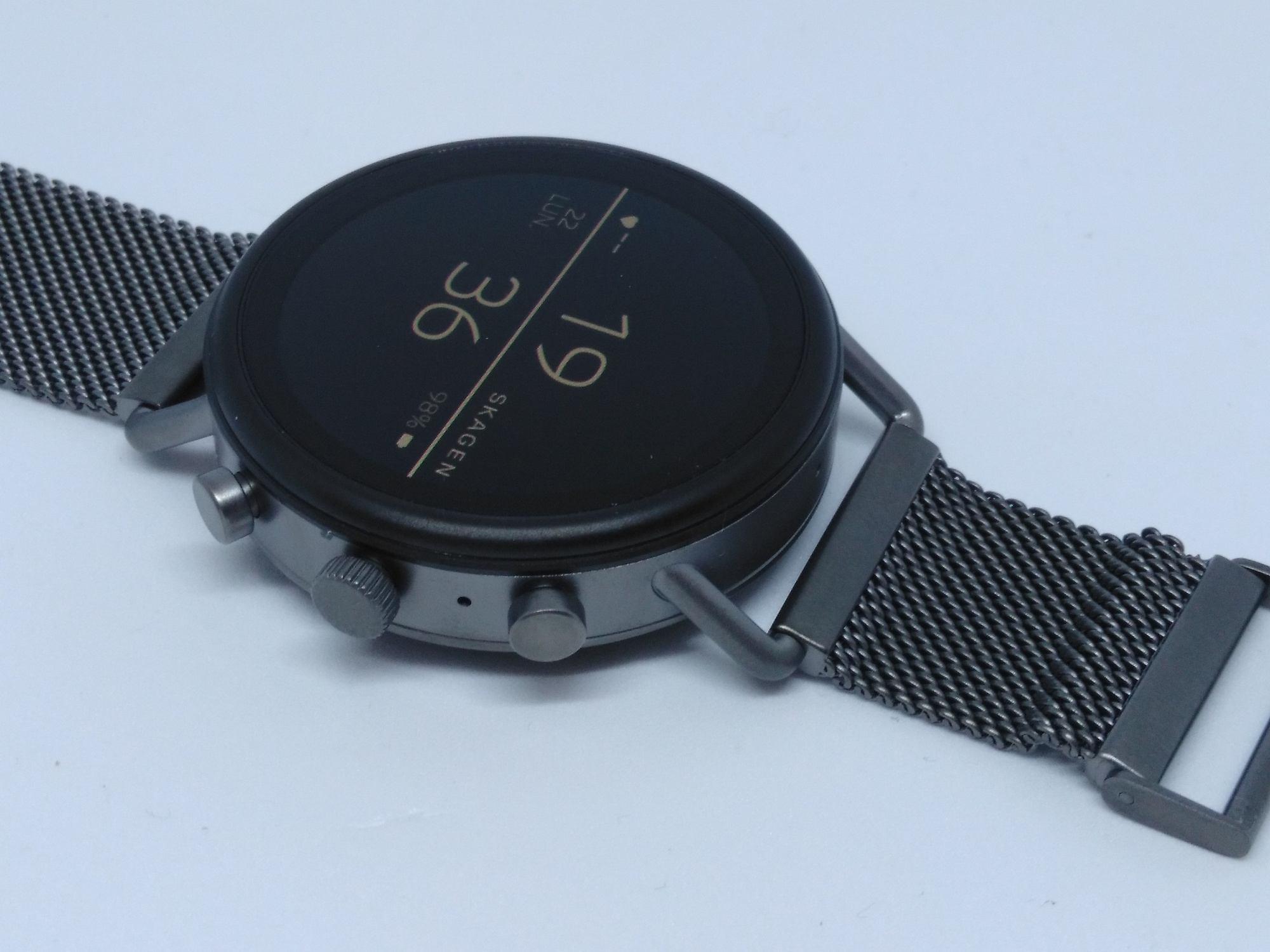 La montre et son affichage