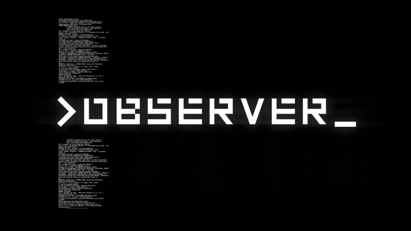 Photo de Test – PS4 – Observer ou la pépite de Bloober Team