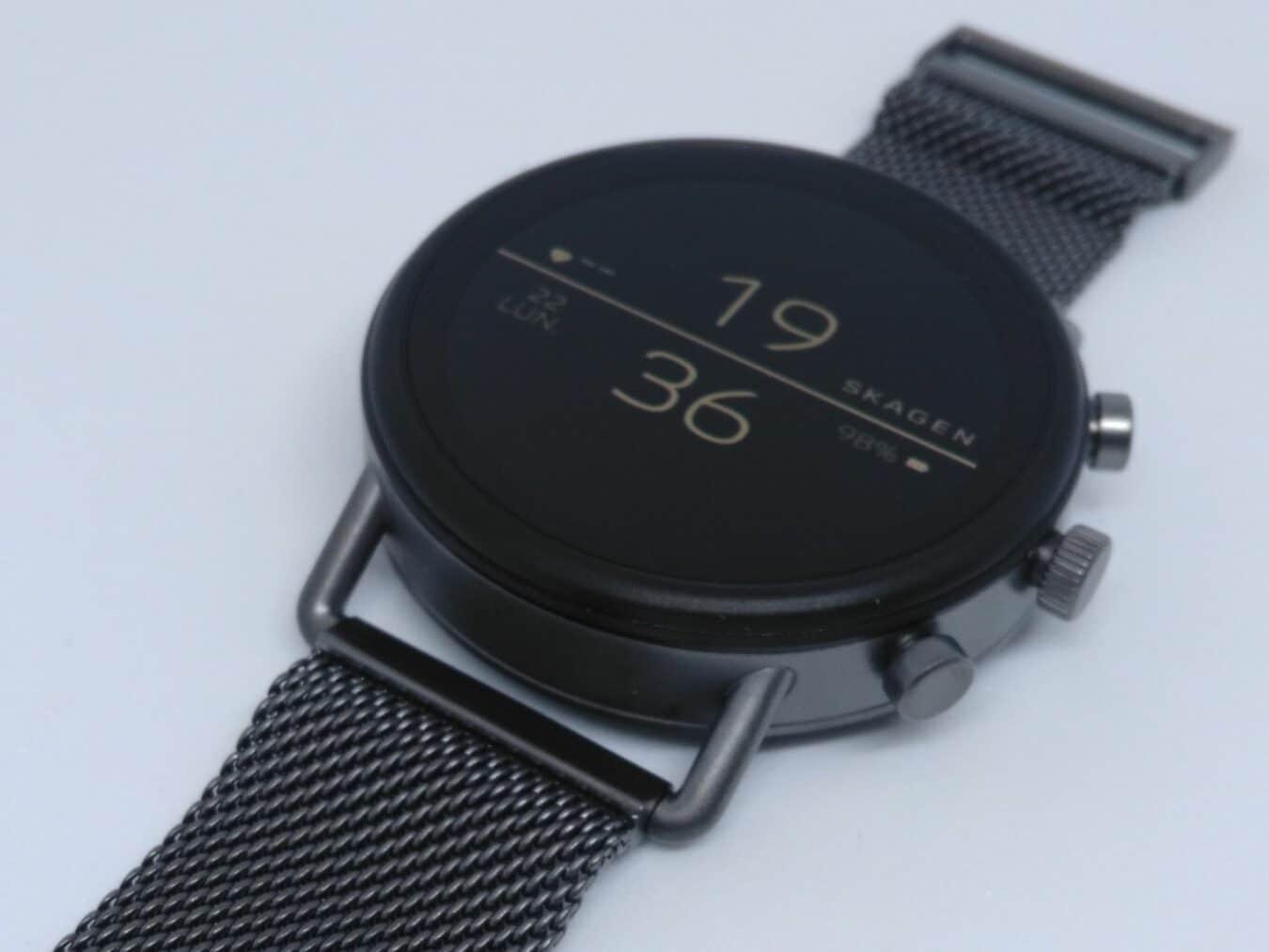 Photo de Test – Skagen Falster 2, le renouveau de la montre connectée en toute sobriété