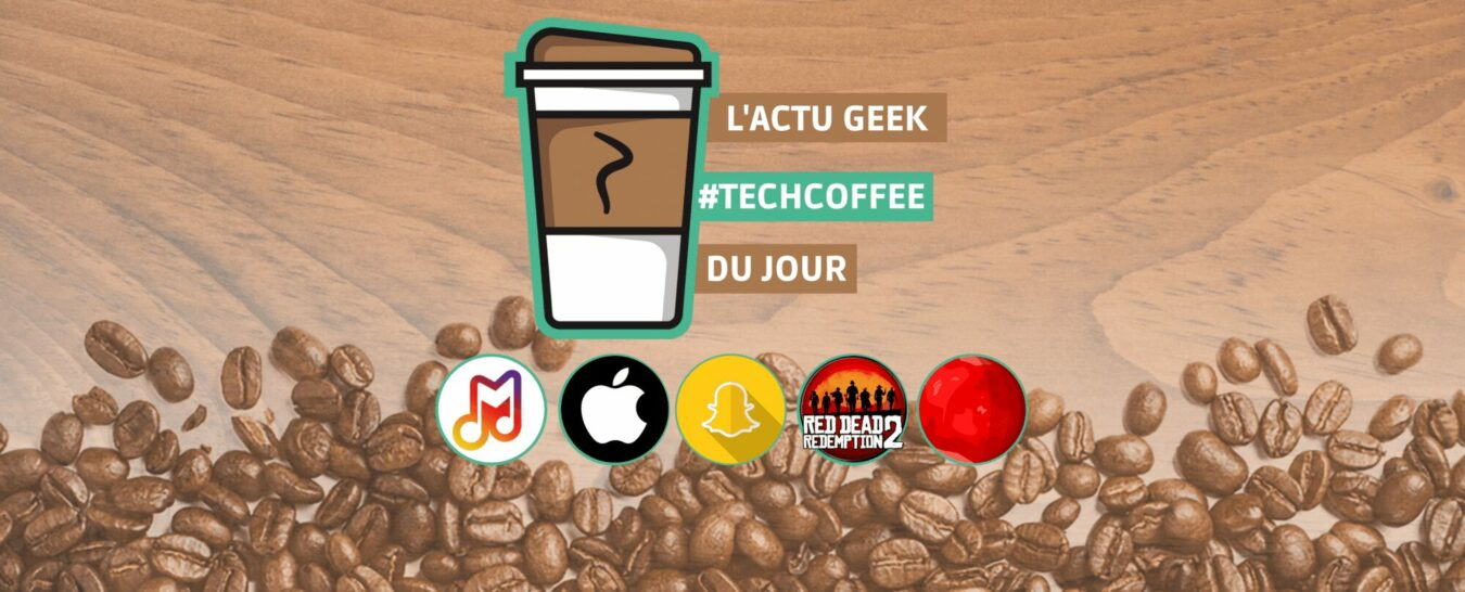 Photo de Snapchat fait son Show, Apple sera votre futur médecin et Red Dead Online #TechCoffee