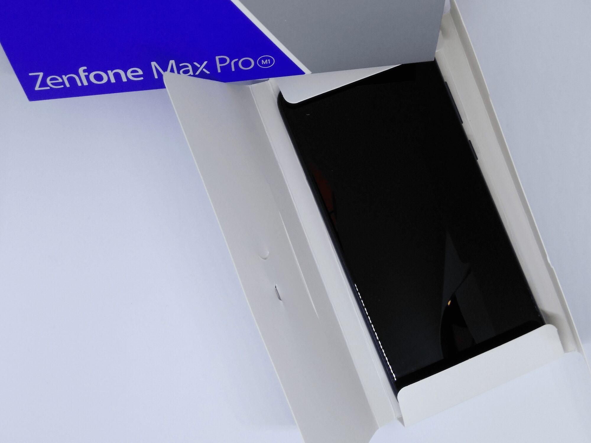Zenfone Max Pro M1-Unboxing