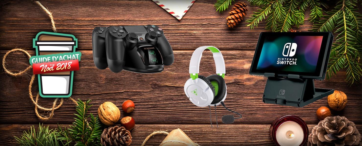 Accessoires pour consoles Noël 2018